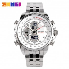 SKMEI Jam Tangan Analog Digital Pria - AD0993 - White
