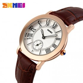SKMEI Jam Tangan Analog Wanita - 1083CL - Coffee - 2