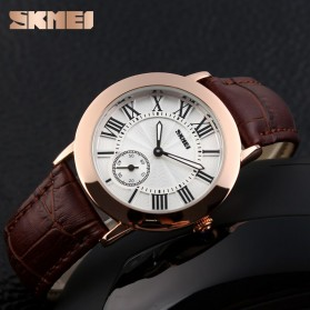 SKMEI Jam Tangan Analog Wanita - 1083CL - Coffee - 3