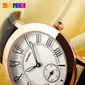 SKMEI Jam Tangan Analog Wanita - 1083CL - Coffee - 4