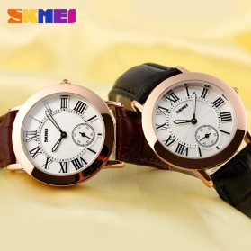 SKMEI Jam Tangan Analog Wanita - 1083CL - Coffee - 6