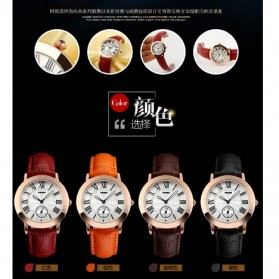 SKMEI Jam Tangan Analog Wanita - 1083CL - Coffee - 7