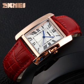 SKMEI Jam Tangan Fashion Wanita - 1085CL - Red - 3