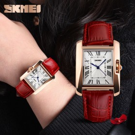 SKMEI Jam Tangan Fashion Wanita - 1085CL - Red - 6