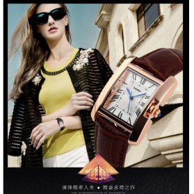 SKMEI Jam Tangan Fashion Wanita - 1085CL - Coffee - 6