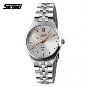 SKMEI Jam Tangan Analog Pria - 9071CS - Golden