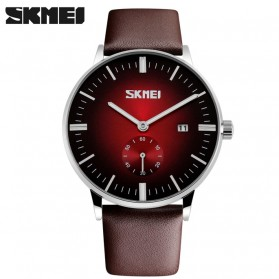 SKMEI Jam Tangan Analog Pria - 9083CL - Black/Red