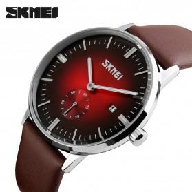 SKMEI Jam Tangan Analog Pria - 9083CL - Black/Red - 2