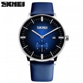 SKMEI Jam Tangan Analog Pria - 9083CL - Black/Blue