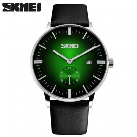 SKMEI Jam Tangan Analog Pria - 9083CL - Black/Green