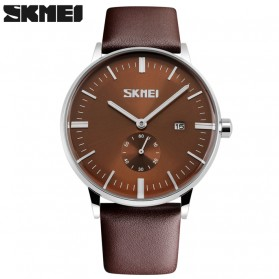 SKMEI Jam Tangan Analog Pria - 9083CL - Brown
