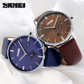 SKMEI Jam Tangan Analog Pria - 9083CL - Blue - 5