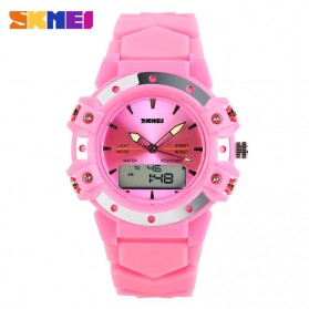 SKMEI S-Shock Sport Watch Water Resistant 50m - AD0821 - Pink