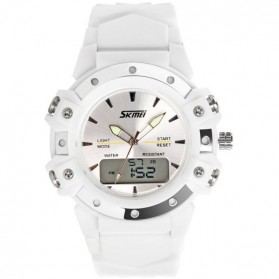 SKMEI Jam Tangan Analog Digital Pria - AD0821 - White