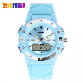 SKMEI Jam Tangan Analog Digital Pria - AD0821 - Blue