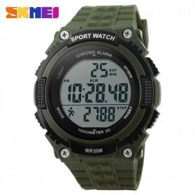 SKMEI Jam Tangan Digital Pria - DG1112S - Army Green