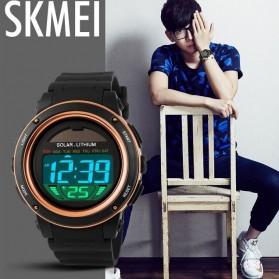 SKMEI Jam Tangan Tenaga Solar Pria - DG1096 - Black Gold - 9