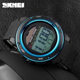 SKMEI Jam Tangan Tenaga Solar Pria - DG1096 - Black/Blue - 5