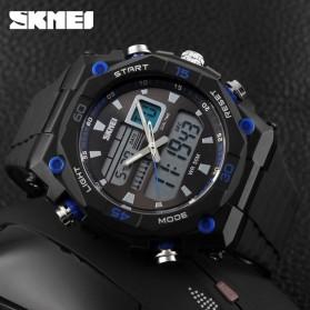 SKMEI Jam Tangan Sporty Digital Analog Pria - AD1092 - Black/Blue - 3