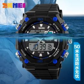 SKMEI Jam Tangan Sporty Digital Analog Pria - AD1092 - Black/Blue - 6
