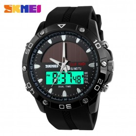 SKMEI Jam Tangan Analog Digital Pria - AD1064E - Black - 2