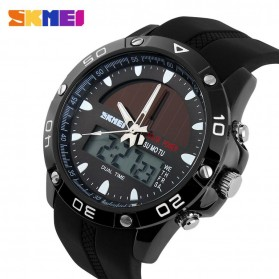 SKMEI Jam Tangan Analog Digital Pria - AD1064E - Black - 3
