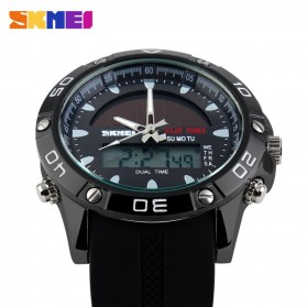 SKMEI Jam Tangan Analog Digital Pria - AD1064E - Black - 4