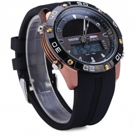 SKMEI Jam Tangan Analog Digital Pria - AD1064E - Brown