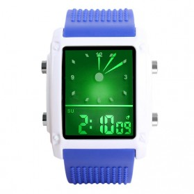 SKMEI Jam Tangan Trendy Digital Analog Pria - 0814G - Blue