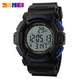 SKMEI Jam Tangan Digital Pria - DG1116S - Black/Blue