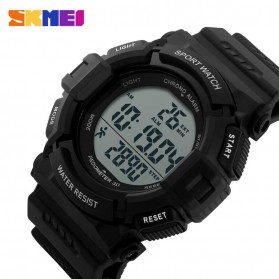 SKMEI Jam Tangan Digital Pria - DG1116S - Black - 3