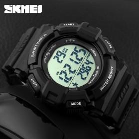 SKMEI Jam Tangan Digital Pria - DG1116S - Black - 5