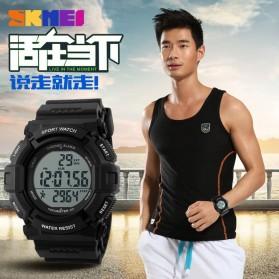 SKMEI Jam Tangan Digital Pria - DG1116S - Black - 7