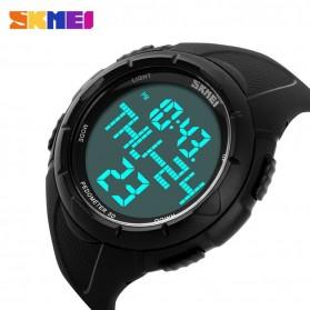 SKMEI Jam Tangan Digital Pria - DG1122S - Black - 4