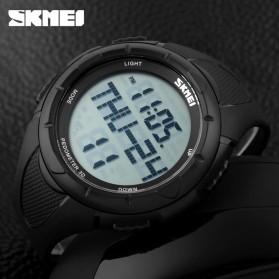 SKMEI Jam Tangan Digital Pria - DG1122S - Black - 5