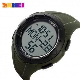 SKMEI Jam Tangan Digital Pria - DG1122S - Army Green - 3