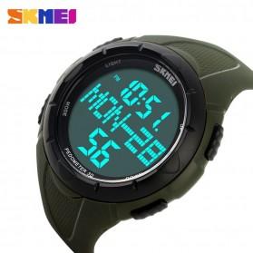 SKMEI Jam Tangan Digital Pria - DG1122S - Army Green - 4
