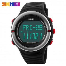 SKMEI Jam Tangan Digital Pria - DG1111HR - Black/Red - 2