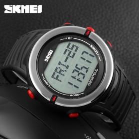 SKMEI Jam Tangan Digital Pria - DG1111HR - Black/Red - 4