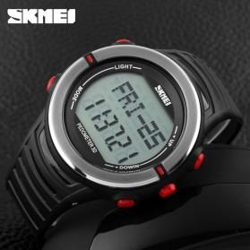 SKMEI Jam Tangan Digital Pria - DG1111HR - Black/Red - 5
