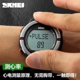 SKMEI Jam Tangan Digital Pria - DG1111HR - Black/Red - 9