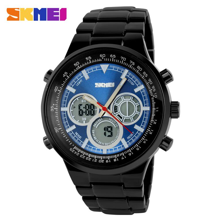 Skmei casio men sport led watch water resistant 50m for Youtube h2o