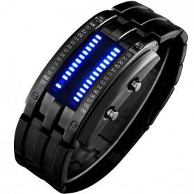 Trend Fashion Pria Terbaru - SKMEI Jam Tangan LED Pria - 0926 - Black