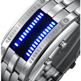 SKMEI Jam Tangan LED Pria - 0926 - White - 2