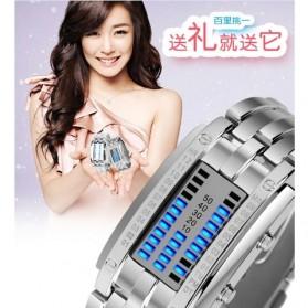 SKMEI Jam Tangan LED Wanita - 0926 - White - 9