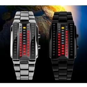 SKMEI Jam Tangan LED Pria - 1035A - Black - 3