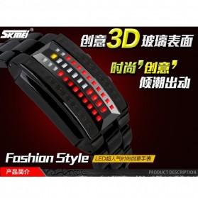 SKMEI Jam Tangan LED Pria - 1035A - Black - 4
