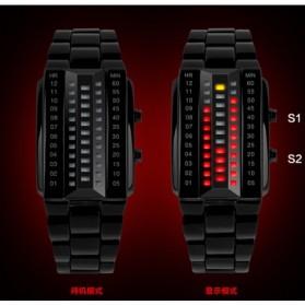 SKMEI Jam Tangan LED Pria - 1035A - Black - 6