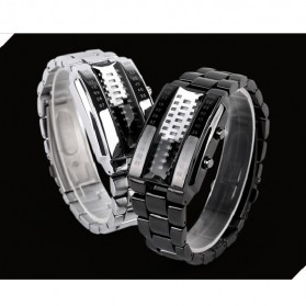 SKMEI Jam Tangan LED Pria - 1035A - Black - 9