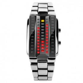 SKMEI Jam Tangan LED Pria - 1035A - White